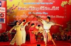 Việt kiều ở Lào gặp mặt mừng đón Tết Giáp Ngọ 2014
