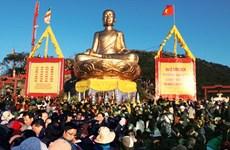 Đông đảo du khách về dự khai mạc lễ hội Xuân Yên Tử