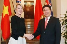 Việt Nam-Australia tăng cường quan hệ đối tác toàn diện