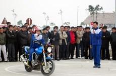 Honda hỗ trợ đào tạo kỹ năng lái xe phân khối lớn