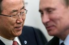 Ông Putin điện đàm với Tổng thư ký LHQ về tình hình Ukraine
