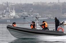 Bị chặn đường sắt, Crimea nhờ Nga mở đường qua eo biển