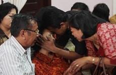 Malaysia trợ giúp người thân hành khách máy bay mất tích