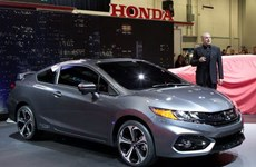 Mẫu Honda Civic Si coupe đời 2014 có giá hơn 22.000 USD