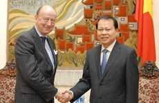 Thúc đẩy mạnh mẽ hợp tác kinh tế Việt Nam-Thụy Điển