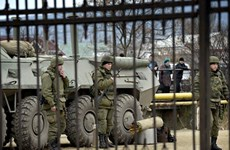Tự vệ Crimea kiểm soát thêm 1 căn cứ hải quân Ukraine