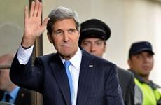 """Ngoại trưởng Mỹ đến Israel để """"cứu vãn"""" tiến trình hòa bình"""