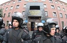 Ukraine: Người biểu tình ập vào trụ sở cảnh sát ở Donetsk