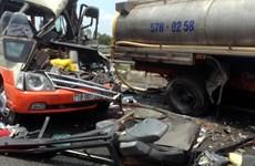 Tai nạn ôtô trên cao tốc TP.HCM-Trung Lương, 3 người chết