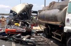 Bệnh viện Chợ Rẫy tiếp nhận 11 nạn nhân vụ tai nạn ôtô