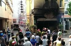 Vụ cháy quán karaoke Nhật Thực ở Giảng Võ: 5 người tử vong