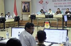 Đảng đối lập thắng lợi trong bầu cử lập pháp tại Indonesia