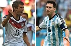 Trận chung kết Argentina-Đức: Trận thư hùng đỉnh cao