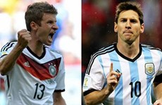"""Những """"đòn hiểm"""" quyết định """"cuộc đại chiến"""" Argentina-Đức"""