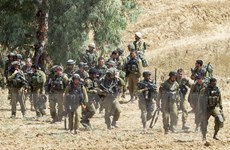 """Israel xâm nhập Gaza, Tổng thống Palestine """"cầu cứu"""" LHQ"""