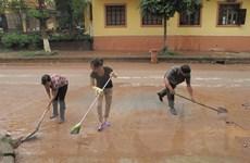 Lạng Sơn khẩn trương khắc phục hậu quả lũ lụt do bão số 2