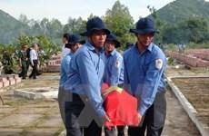 Kiên Giang an táng 58 hài cốt liệt sỹ hy sinh ở Campuchia