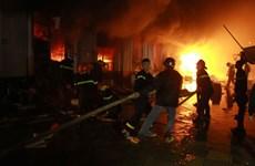 Hưng Yên: Cháy lớn công ty điện lạnh gây thiệt hại hơn 15 tỷ đồng