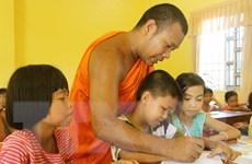 Họp mặt các vị sư sãi, người có uy tín trong đồng bào Khmer