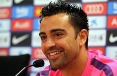 Xavi rời tuyển Tây Ban Nha và giải thích lý do ở lại Barca