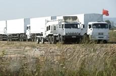 Bộ Quốc phòng Nga bác tin đưa xe quân sự vào Ukraine