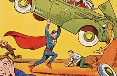 Cuốn truyện tranh siêu nhân đầu tiên lập kỷ lục đấu giá