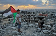Ngoại trưởng Mỹ đàm phán với Palestine về quan hệ với Israel