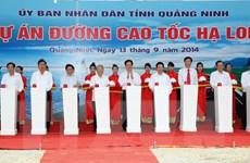Thủ tướng phát lệnh khởi công đường cao tốc Hạ Long-Hải Phòng