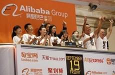Alibaba trở thành công ty có giá trị thị trường 231,4 tỷ USD