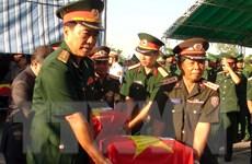 Việt-Lào tự hào về chiến công của quân tình nguyện Việt Nam