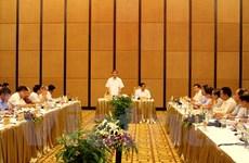 Tiểu ban Văn kiện Đại hội Đảng làm việc với Thường vụ Quảng Ninh