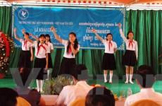 Trường Hữu nghị Khmer-Việt Nam Tân Tiến ở Campuchia khai giảng
