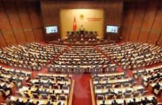 Quốc hội nghe tờ trình dự Luật Bầu cử đại biểu Quốc hội, HĐND
