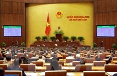 Quốc hội thông qua nghị quyết kế hoạch phát triển kinh tế-xã hội