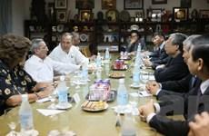Đoàn Đảng Cộng sản Việt Nam thăm và làm việc tại Cuba