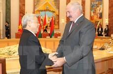 Tuyên bố chung củng cố quan hệ toàn diện Việt Nam-Belarus