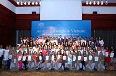 Chính phủ Australia trao học bổng cho 161 công dân Việt Nam