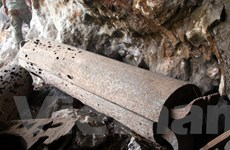 Kỳ bí thế giới mộ cổ táng treo trong hang ở Suối Bàng