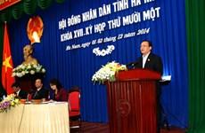 Hà Nam lấy phiếu tín nhiệm đối với các chức danh do HĐND bầu