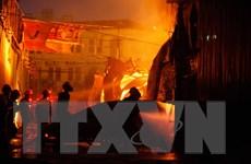 Thành phố Hồ Chí Minh: Cháy nhà trọ, 5 người bị bỏng nặng