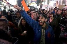 Biểu tình phản đối cảnh sát làm chết người da màu tại New York