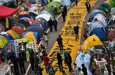 Cảnh sát Hong Kong bắt đầu giải tỏa các điểm biểu tình