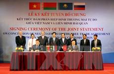 Bộ trưởng Công Thương: Khi các FTA được ký sẽ mở ra cơ hội mới