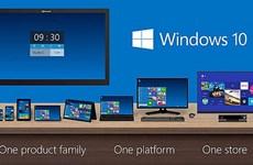 Microsoft giới thiệu Windows 10 với nhiều tính năng hấp dẫn