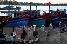 Cửa sông Nhật Lệ bị bồi lấp nghiêm trọng, nhiều tàu mắc cạn