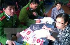 Thanh Hóa: Triệt phá xưởng sản xuất hàng tấn mỳ chính giả