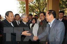 Tổng Bí thư Nguyễn Phú Trọng thăm làm việc tại huyện Lệ Thủy