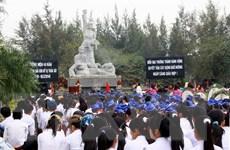 Dâng hương tưởng niệm nhân 47 năm vụ thảm sát Sơn Mỹ