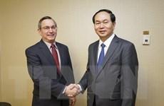 Bộ trưởng Công an Trần Đại Quang thăm và làm việc tại Hoa Kỳ