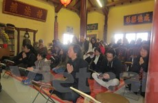 Người Việt tại Pháp tổ chức cầu siêu cho các liệt sỹ Gạc Ma